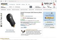 Amazon ya permite envíos internacionales de Chromecast