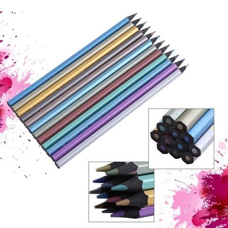 Pack 12 Lapices De Colores Metalizados Por 297 Euros En Ebay Para