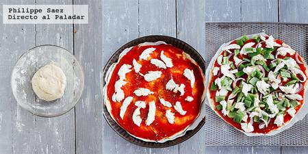 Pizza Casera Chile Poblano