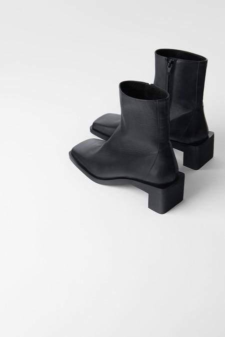 Zapatos Punta Cuadrada 04