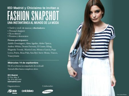 ¿Qué hace un personal shopper, un dj y un diseñador en el IED Madrid? La Fashion Snapshot, el outlet del año