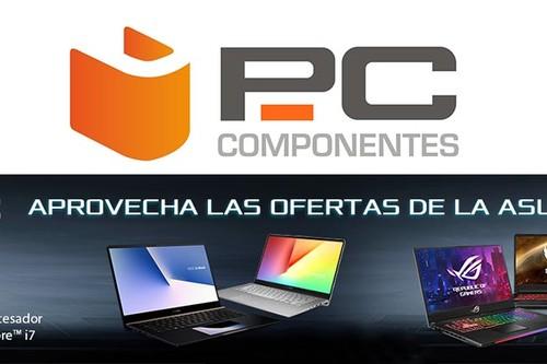 ASUS Week en PcComponentes: portátiles, monitores y periféricos a precios mucho más interesantes