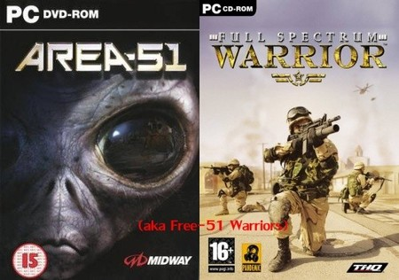 'Area 51' y 'Full Spectrum Warrior', ahora gratuitos