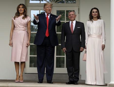 Los Trump Y Los Reyes De Jordania