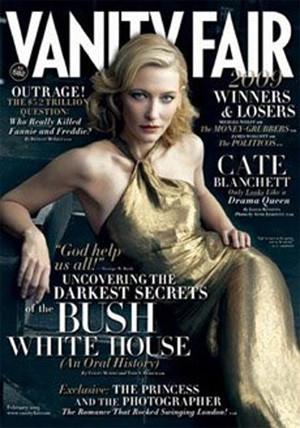 Cate Blanchet en Vanity Fair