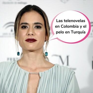 """La actriz Carolina Ramírez ('La reina del flow') confiesa el problemón que tuvo durante el rodaje de la segunda temporada: """"El pelo se me murió, ya no tenía"""""""