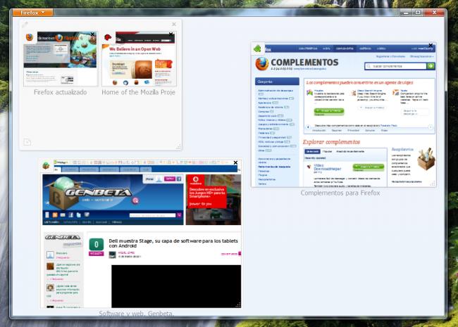 Captura de Firefox 4