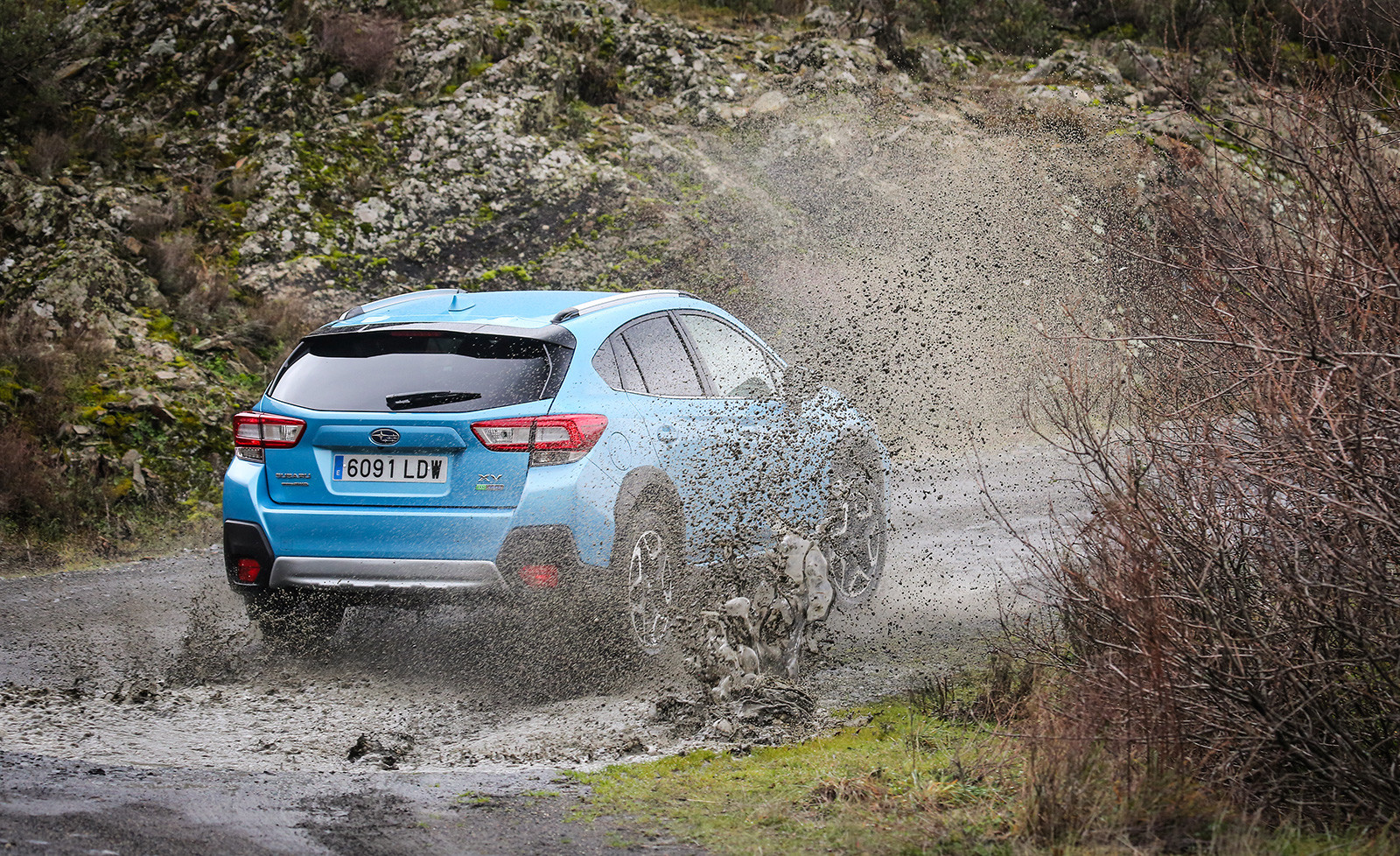 Foto de Subaru XV ECO HYBRID 2020, a prueba (6/35)