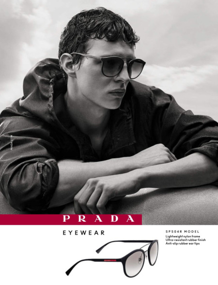 Tim Schuhmacher Prada Linea Rossa Eyewear Fall Winter 2016 Campaign 003