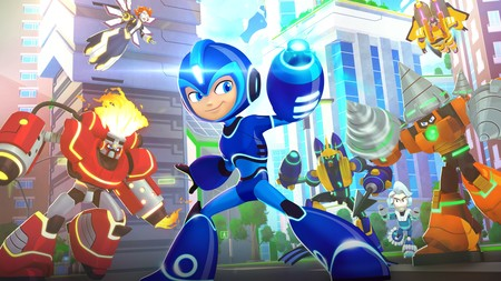 Todas las claves de Mega Man: Fully Charged, la nueva serie animada del Blue Bomber