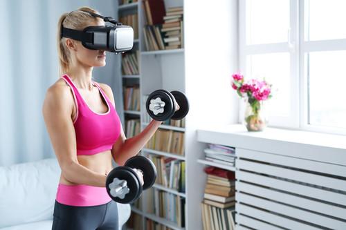 """Cuando tu gimnasio no es """"real"""": hacer ejercicio (o intentarlo) en realidad virtual"""