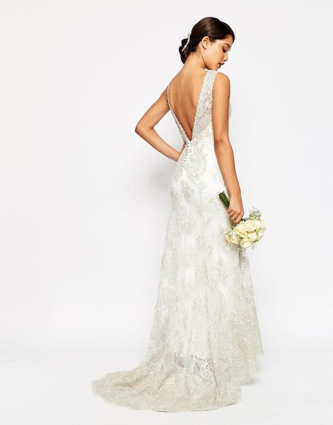 vestido novia kiabi