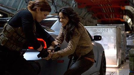 Gina Carano y Michelle Rodriguez en