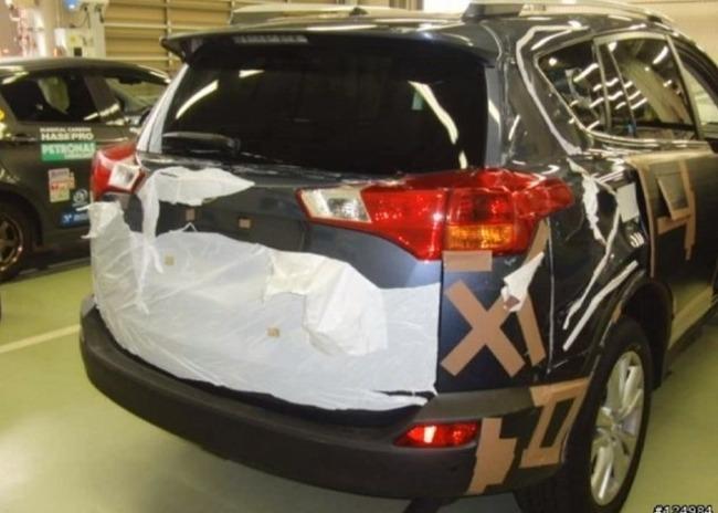 Posiblemente, el nuevo Toyota RAV4