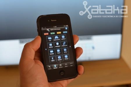Smart Viera aplicación iphone