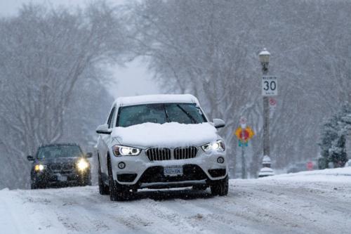 Cómo actuar con tu iPhone si te quedas atrapado en la carretera por el mal tiempo