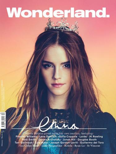 Emma Watson es la princesa del cuento de Wonderland