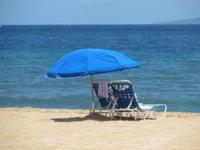 La playa, un salón de belleza para la piel