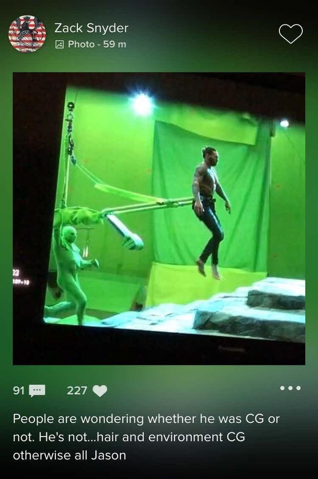 Aquaman Zack Snyder Jason Momoa