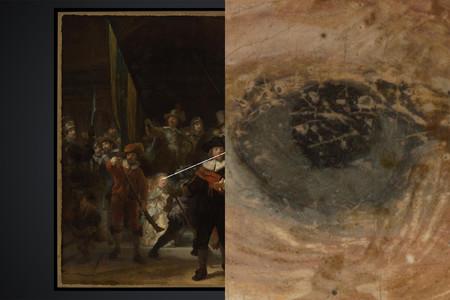 Foto de 45 gigapixeles la ronda de noche rembrandt