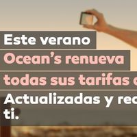 Oceans presenta nuevas tarifas móviles con más minutos, más datos y más baratas