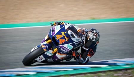 Arón Canet empieza con marchamo de campeón en los primeros test de pretemporada de Moto2