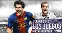 Los juegos más vendidos en España en octubre 2012: el fútbol, Connor y los Pokémon se quedan con el podio