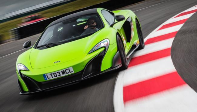 Nuevo récord anual de ventas en 2015 para McLaren Automotive
