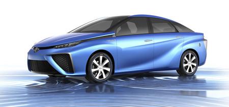 Toyota llevará al CES el prototipo FCV