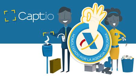 Captio, gestión de gastos digitalizada homologada por la AEAT