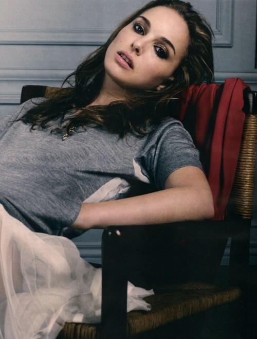 Foto de Todas las fotos de Natalie Portman para Elle: el cuento de la princesa romántica (6/8)