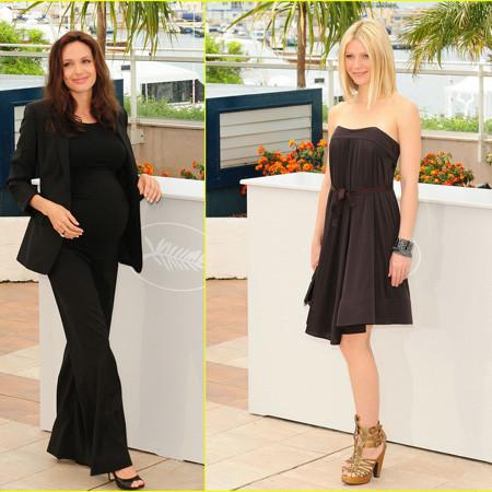 Angelina Jolie y Gwyneth Paltrow de presentación, otra vez