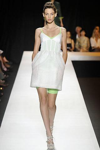 Isaac Mizrahi en la Semana de la Moda de Nueva York primavera-verano 2009