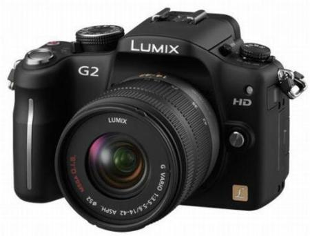 Panasonic DMC-G2 y G10, grabación de vídeo en alta definición y pantalla táctil