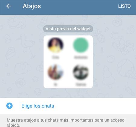 Widgets Telegram Android