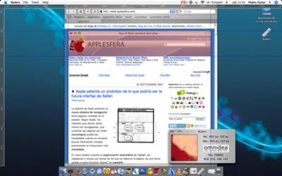 Ommidea Rulers: Reglas en tu escritorio para capturas de pantalla exactas
