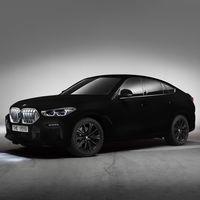 La pintura negra más oscura del mundo la viste el BMW X6 Vantablack