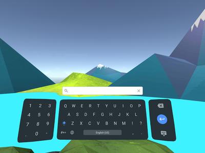 Así es el Teclado de Daydream para la realidad virtual de Google