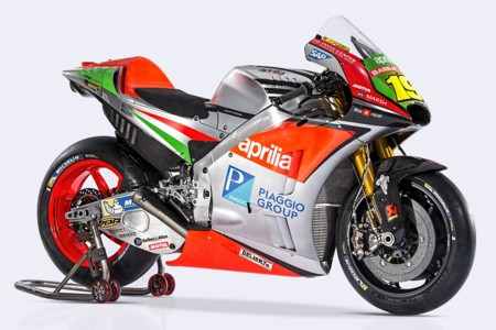 Presentacion Aprilia RS-GP