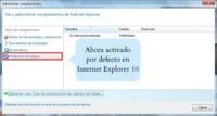 Internet Explorer 10 incorporará Do Not Track por defecto