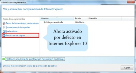 Internet Explorer 10 incorporará Do Not Track por defecto