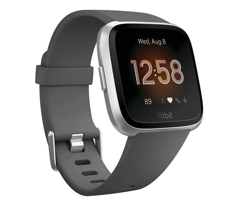 Fitbit Versa Lite, smartwatch con monitorizacion de actividades, sueño y ritmo cardíaco, sumergible y con más de 15 ejercicios basados en objetivos y pantalla táctil con vivos colores