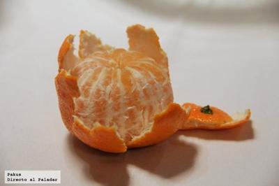 Taller de cocina con mandarinas con Rodrigo de la Calle