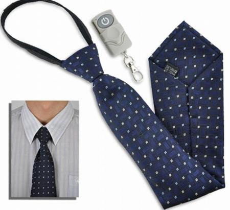 Corbata espía, una alternativa de trabajo
