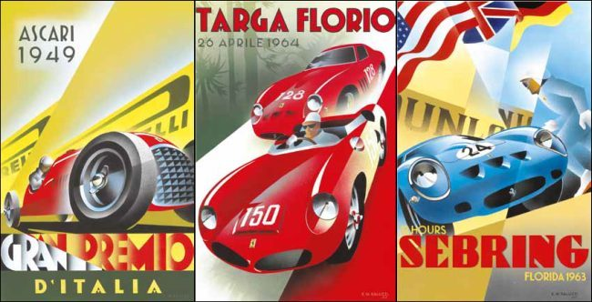 Posters Inspiración Art Deco Pullman Editions