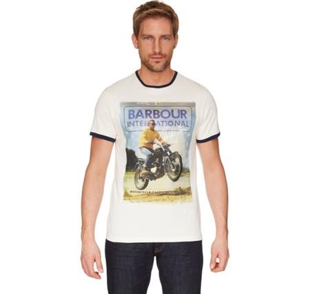 Barbour International y la McQueenmanía: no te puedes perder la camiseta