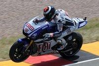 MotoGP Alemania 2010: Jorge Lorenzo, Andrea Iannone y Marc Márquez los más rápidos de la FP2