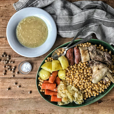 Los secretos de un cocido madrileño perfecto, receta con vídeo incluido