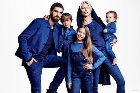 Piensa verde y usa azul con la nueva línea de H&M