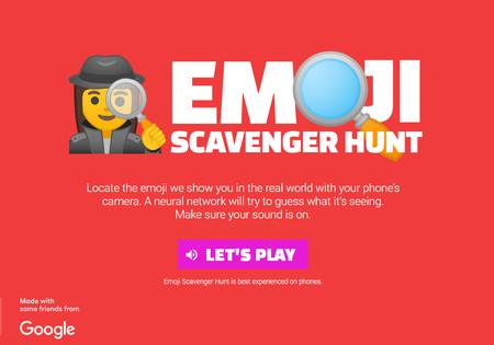 Emoji Scavenger Hunt, un divertido juego de Google que te reta a encontrar emojis en la vida real usando la cámara